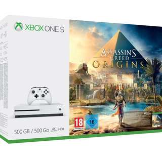 Xbox One S Assassin's Creed (New)