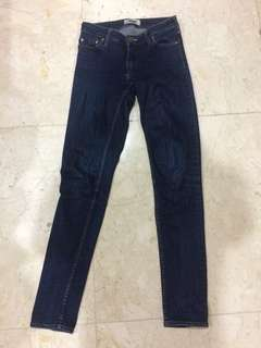 ACNE low rise jeans