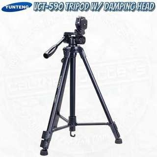 Yunteng VCT-590 DSLR and SLR Photo Video Tripod