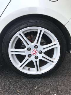 Original Rims EP3 model Type R 17'