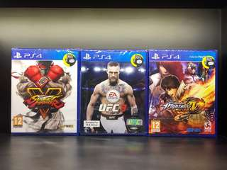PS4 Games (New)