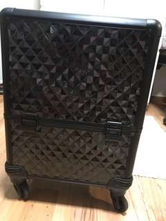 Professional make-up artist trolley suitcase