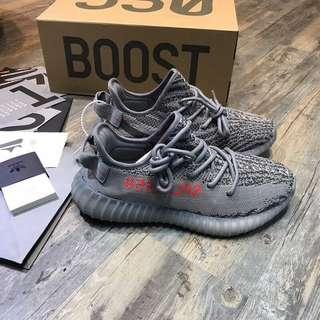 超抵價😀Yeezy Boost 350 V2 灰色