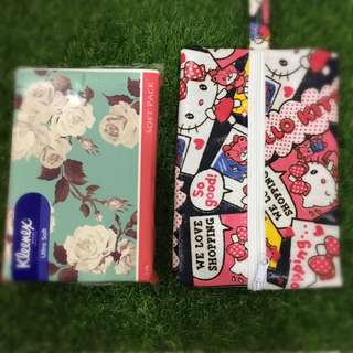 🔺New Arrival🔺Handmade Waterproof Travel Pack Size Tissue Pouch
