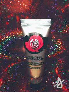 The Body Shop Rose Hand Cream - 30ml