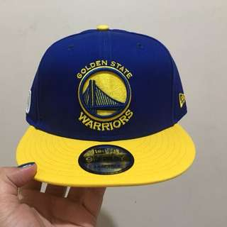 Authentic New Era Golden State Warriors Cap
