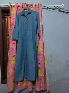 Gamis jeans exit girls