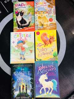 Assorted books for 7-9 years old