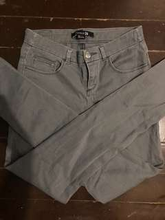Forever 21 Gray Pants (S-M)