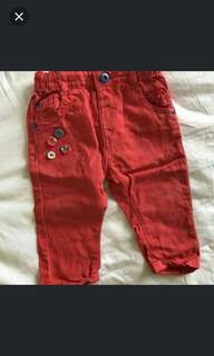 Girl Red Pant