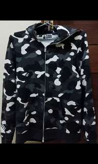 Bape City Camo Shark Full Zip Hoodie