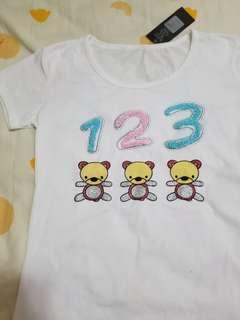 白色衫 T shirt