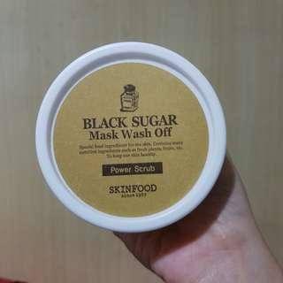 (SHARE) Skinfood Black Sugar Mask Wash Off