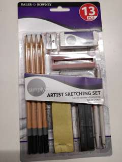 Daler and Rowney Artists Sketching Set