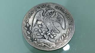 1886 Mexico Genuine Original