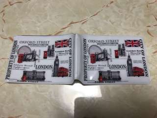 London souvenir - card holders