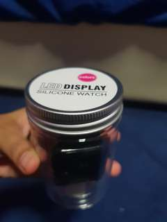 LED Display Silicone Watch