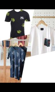 Tropical t-shirt 100rb dapat 2!!!