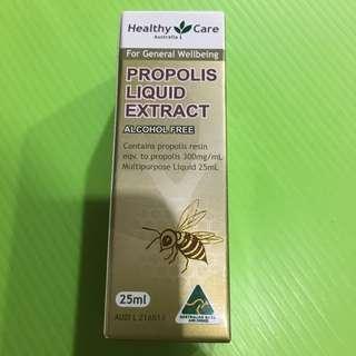 🚚 全新澳洲購入正品 Healthy Care 蜂膠 25ml(滴管式)Propolis Liquid 無酒精成份