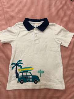 Preloved Authentic Gymboree Polo Shirt