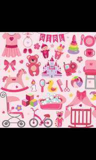 Looking For Baby Girl Stuff