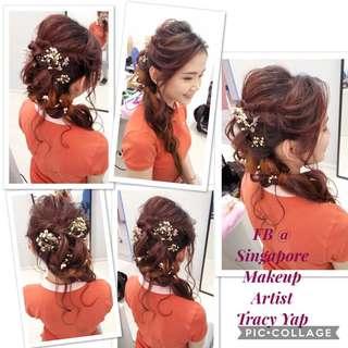 Bridal makeup & hairdo services