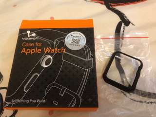 Apple Watch 42mm 非全包硬殼(保護殼) (最後 2 個)