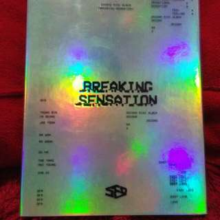 [ PRICE INC POSTAGE ] SF9 BREAKING SENSATION