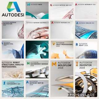 autodesk products 2019 and many more