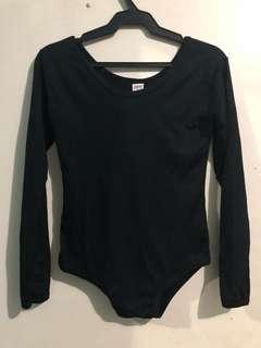 2 pcs Black Bodysuit (L-XL)