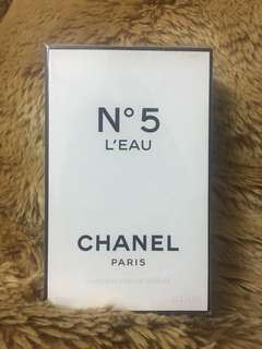 Chanel N5 L'eau (AUTHENTIC)