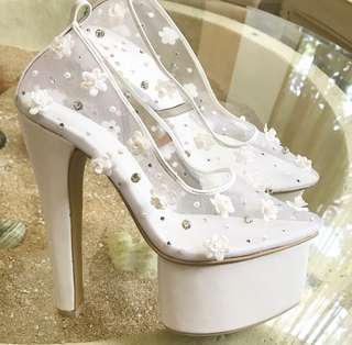 Snow White Wedding shoes