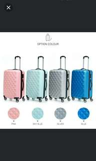 Free courier 20/24/28inch Zenia Cube Luggage