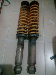 Rear adjustable absorber
