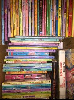 Box of Assorted Sweet Valley Books