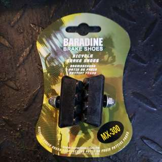 Baradine Brake Shoe Pad MX-300