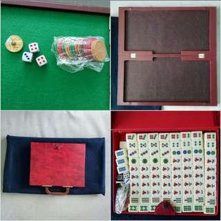 144pcs/set Mini Mahjong Set