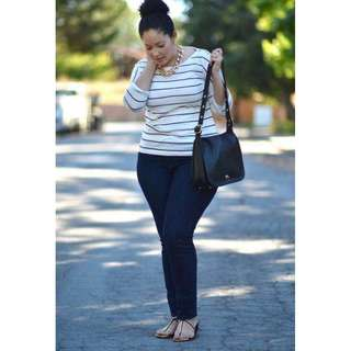 Plus Size Terno Top and Jeggings - COD