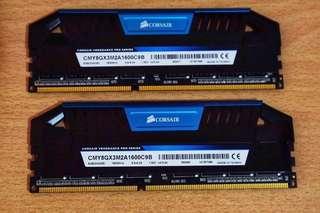 Corsair Vengeance Pro DDR3 1600MHz 8Gb (2x4Gb)