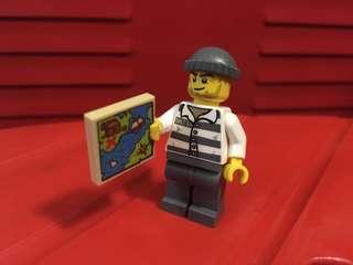 LEGO Generic Robbers w Maps