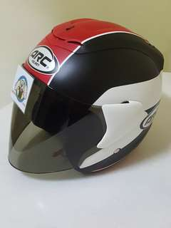 0906** ARC RITZ Matt Red Helmet For Sale 😁😁Thanks To All My Buyer Support 🐇🐇 Yamaha, Honda, Suzuki