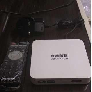 安博盒子2代 s800 直播王 九成新