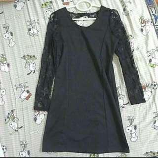H&M Lace Black Dress