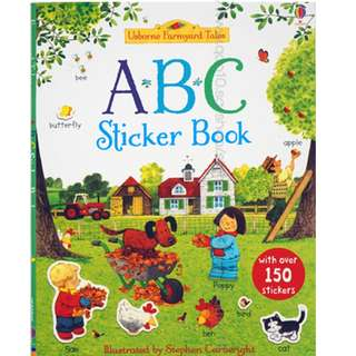 Usborne First Sticker Book -  ABC ( All Paperback Books and Brand New )