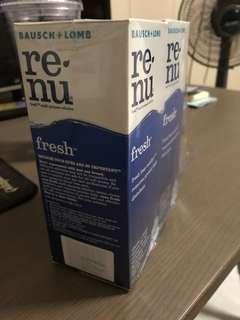 Renu multi-purpose solution x2
