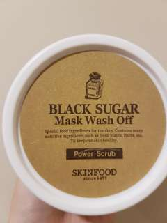 Skinfood Black Sugar Mask Wash Off Preloved