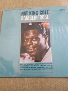 Vinyl Lp Rambling Rose: Nat King Cole