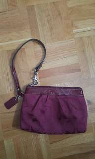 Like NEW Coach Wristlet