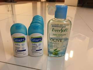 Cetaphil wash & shampoo