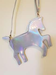 Holographic Unicorn Bag